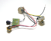 Tele Wiring Harness, 3 Way 250K Blade Switch