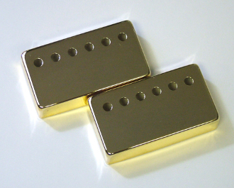 Humbucker Cover 52/50, Metal Chrome