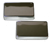 Humbucker Cover, Metal Chrome