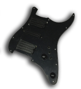 Pro Series HSH Pickguard DFHR, Quad Rails Mini Switches