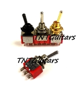 Mini Switch, Three Way On-Off-On Toggle Style Pickup Selector