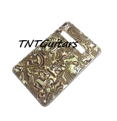 Strat Trem Cover, Bronze Abalone