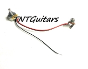 One Pickup Wiring Harness ~ CTS Control Pot ~ 1 Volume Harness