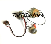 1V1T Prewired Harness, 2 Pickup CTS Push Pull, 3 Way Blade Switch