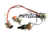 1V1T Prewired Harness, 2 Pickup CTS, 3W Toggle Switch