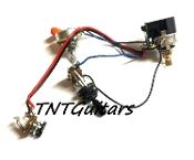 1V1T Prewired Harness, 2 Pickup CTS Push Pull, 3 Way Toggle Switch