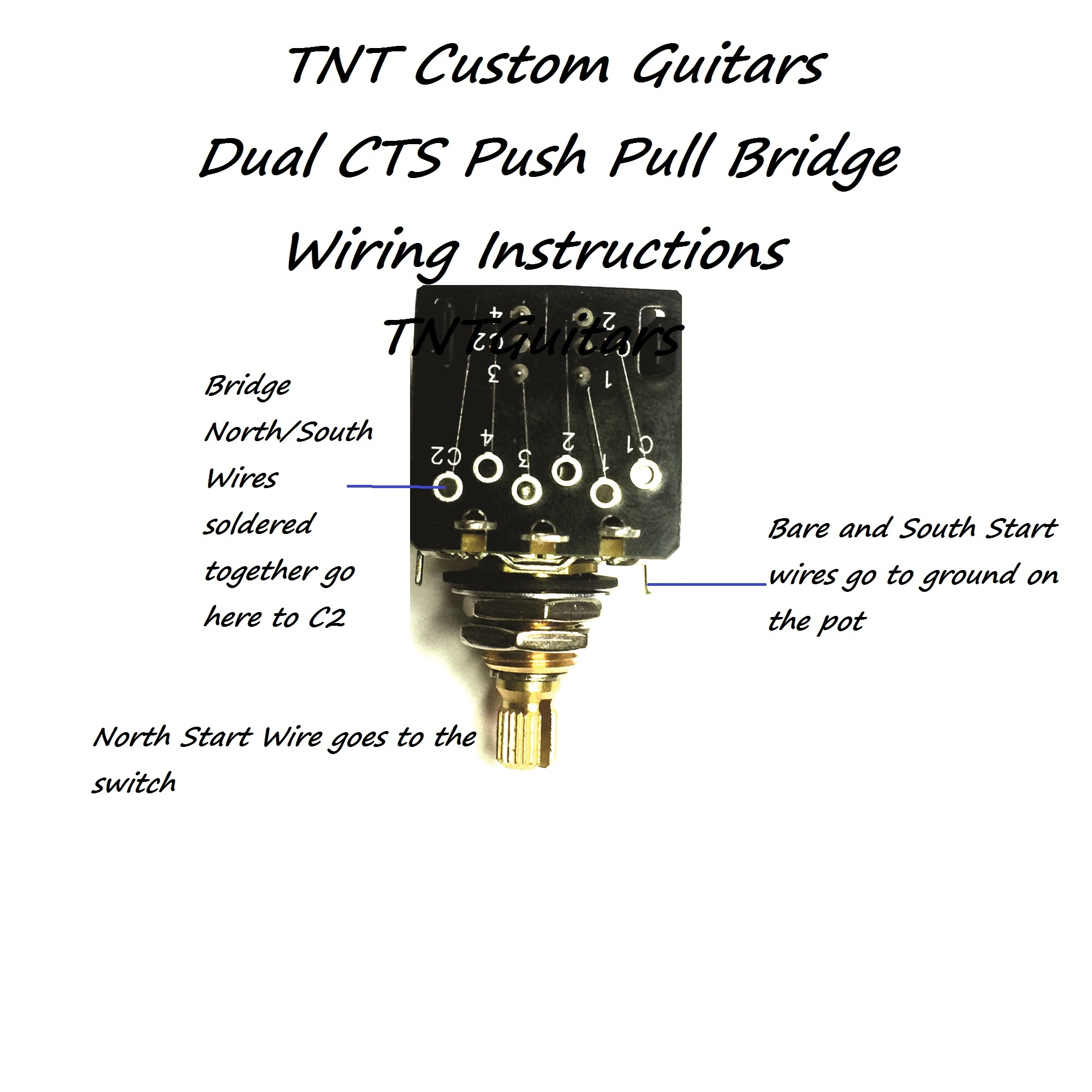 Push Pull B250k Potentiometer Wiring Diagram Another Blog About Kz440 Harness 1v2t Prewired 2 Pickup Cts Dual Coil Cut Toggle Rh Dragonfireguitars Com