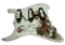 Prewired SSS Strat Pickguard, Pro-Series Pure Noiseless Plus