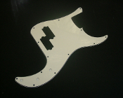 P Bass Pickguard, Aged White