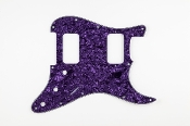Strat Pickguard HH, Big Apple Style