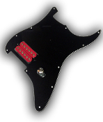 Prewired One Hum Pickguard, Phat Screamer
