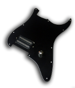 Prewired One Hum Pickguard, Power Rail