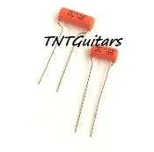 Sprague Orange Drop Cap Style Tone, Audio Tone Control Capacitor