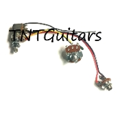 1V1T One Pickup Wiring Harness ~ Standard Push-Pull COIL SPLIT
