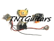 1V2T Prewired Harness, 2 Pickup CTS Push Pull, DUAL Coil Cut
