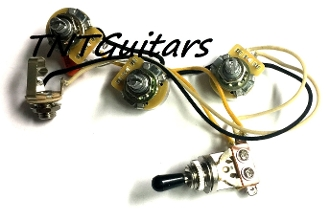 1V2T Prewired Harness, 2 Pickup CTS, 3 Way Toggle Switch