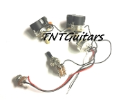 1V2T Prewired Harness, 2 Pickup CTS Push Pull, DUAL Coil Cut, Toggle Switch