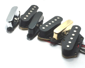Tele Standard Pickups, Tele Pickup Set for Telecaster, Choice of Colors, Bridge / Neck / Set, Free USA Shipping, Orders Ship Fast, Ceramic, Modern Sound, Mod Wound
