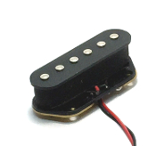 Tele Standard Pickups, Tele Pickup bridge/ rear for Telecaster, Choice of Colors, Bridge / Neck / Set, Free USA Shipping, Orders Ship Fast, Ceramic, Modern Sound, Mod Wound