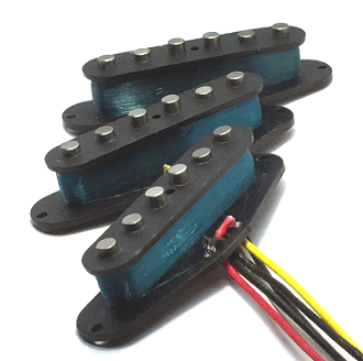 Texas Blues Strat Pickups