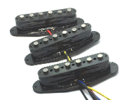 Strat Alnico Pickup Set