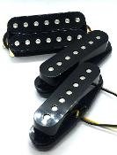 Dragonfire 7 String Screamers HSS Pickup Set, Humbucker-Single-Single Pickups