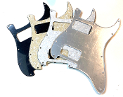 Double Humbucker (HH) Pickguard, 2 Hum Guard, Sale Color Rounded Corner, Choice Clearance