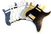 HS Pickguard, Humbucker-Single Strat Guard Choice of Sale Colors Clearance Squared Corner