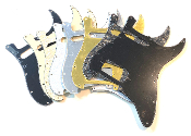 HS Pickguard, Humbucker-Single Strat Guard Choice of Sale Colors Clearance Rounded Corner