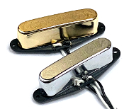 Tele Pure Vintage Pickup Neck / Front Tele Pickup for Telecaster, Choice of Colors, Bridge / Neck / Set, Free USA Shipping, Orders Ship Fast, Pure Vintage, Tele Texas Twang, 2 Wire