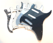 SSS Pickguard, Strat FLOYD ROSE Guard, Color & Control Choices Color Choice, Pot Holes, Blade Switch , Standard Trem, Clearance Sale, FLOYD ROSE TREM STYLE