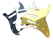 SSS Pickguard, Strat Guard, Color & Control Choices Color Choice, Pot Holes, Blade Switch , Standard Trem, Clearance Sale, Floyd Rose, FR
